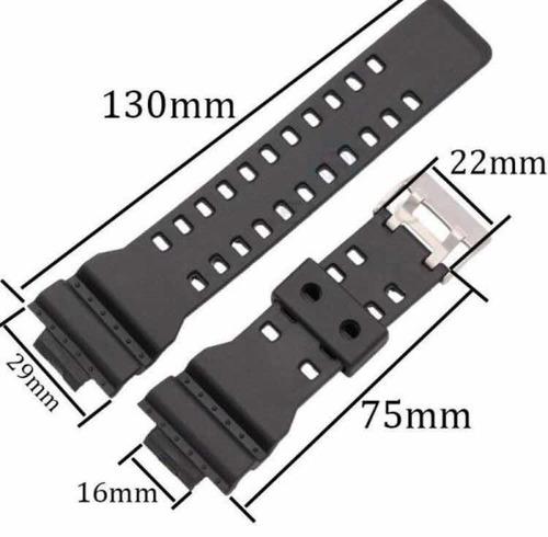 pulseira casio ga100 gd-100 ga-110 gd-120 g-shock
