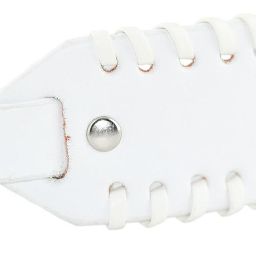 pulseira cinto - branco