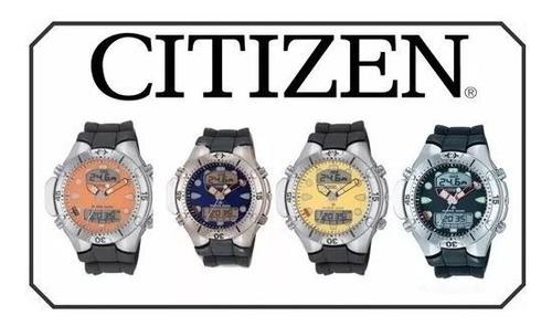 pulseira citizen aqualand jp1060 bj2040 al0050 b740 promaste