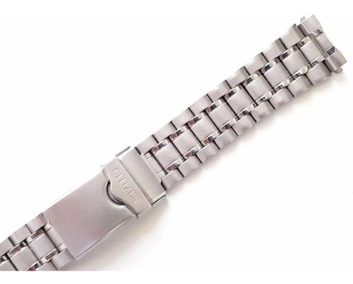 pulseira citizen c320 c330 s2 - aço - 100% original