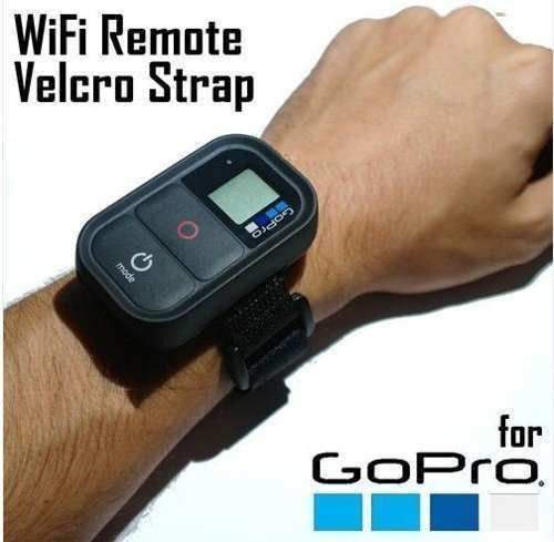 pulseira controle remoto wifi gopro acessório gopro nylon