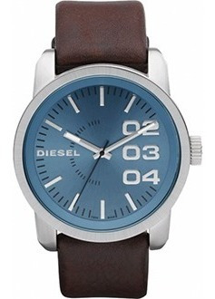 pulseira couro diesel dz1512