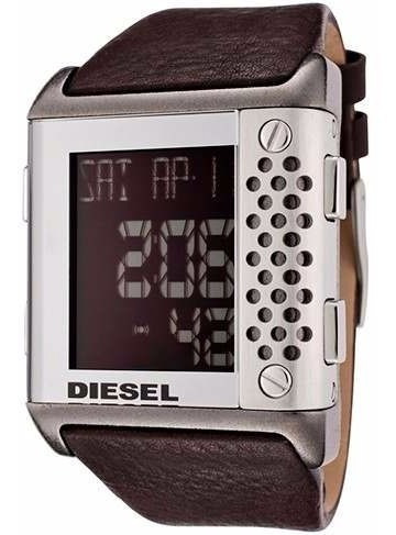 pulseira couro diesel dz7123