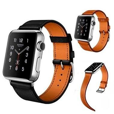 6ff951c000d Pulseira Couro Luxo Apple Watch 38mm 42mm - Preta Ou Marrom - R  164 ...