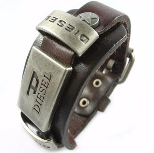 pulseira couro original pronta entrega frete gratis  2137