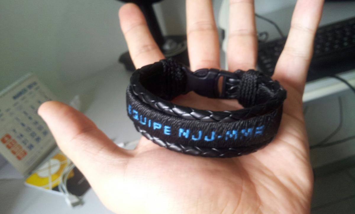 5e2b93a97 pulseira couro personalizada jiu-jitsu esportes promoção. Carregando zoom.