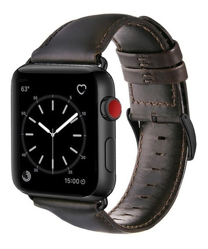 pulseira couro premium apple watch series 5 / 4 44mm hoco
