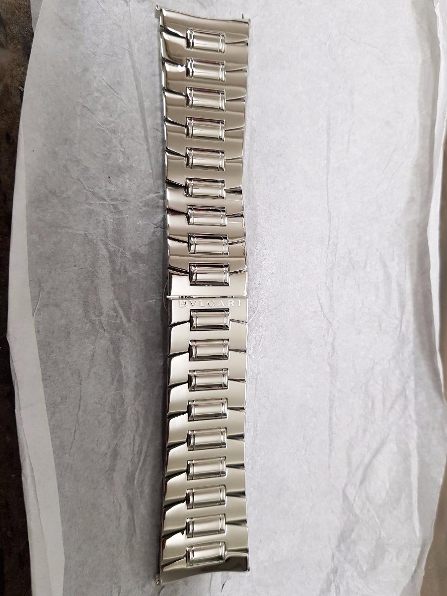 4f429213460 pulseira de aço bvlgari original. Carregando zoom.