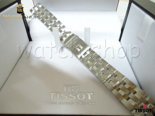 pulseira de aço tissot prs200 t067. - original