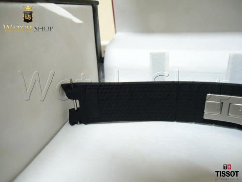 pulseira de borracha tissot prs 330 t076417a 21mm p original
