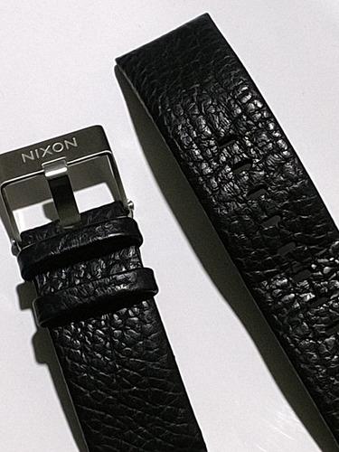 pulseira de couro nixon 51-30
