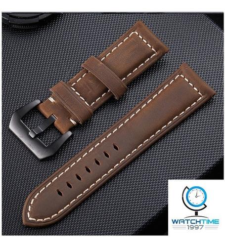 pulseira de couro panerai    22mm