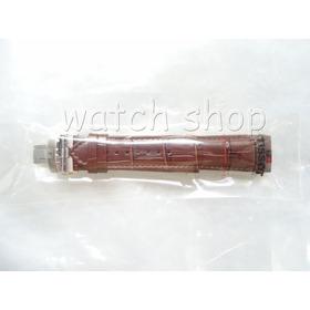Pulseira De Couro Tissot T035410a 22mm Marrom - Original