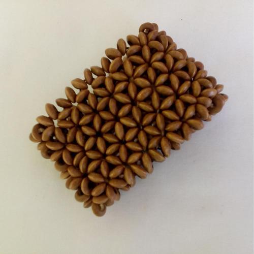 pulseira de madeira ref: 6512