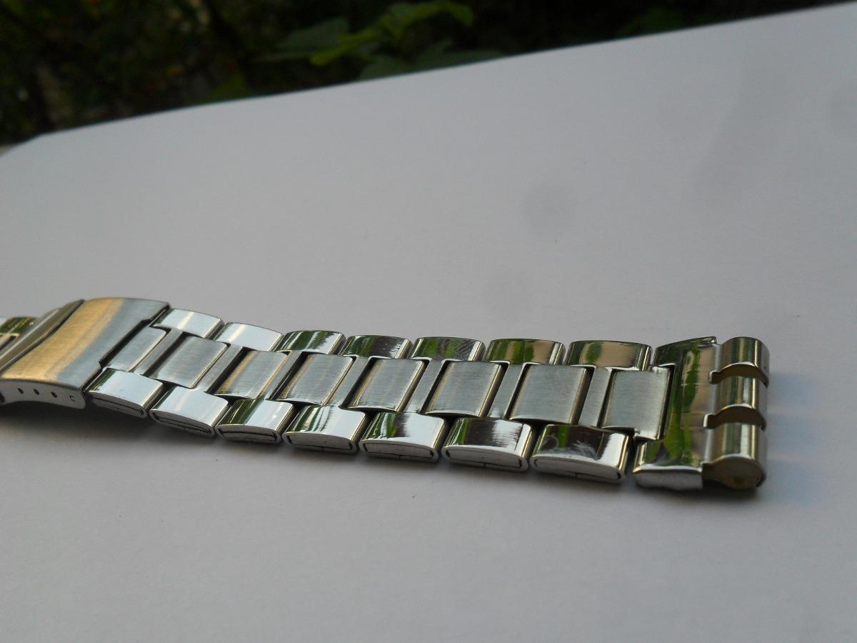 3d6ceb6d90b pulseira de metal masculina swatch 19mm. Carregando zoom.