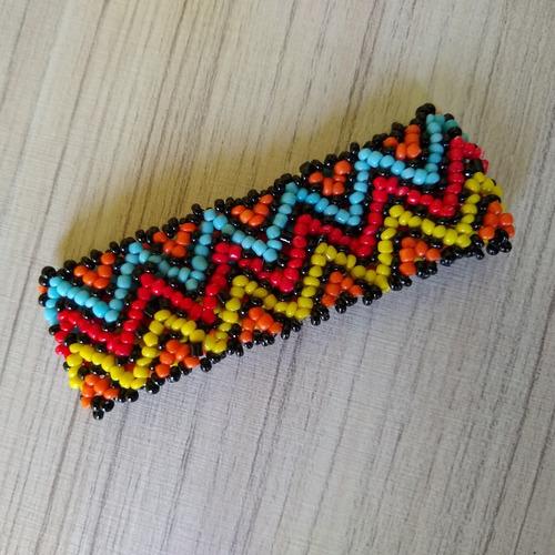 pulseira de miçangas colorida ref: 9030