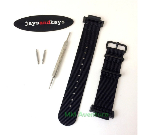 pulseira de nylon nato zulu 2 peças 22mm jaysandkays p/ g-shock gx56 gd350 ga700 gw9400 dw9052 ga100 gd120 g9100 etc