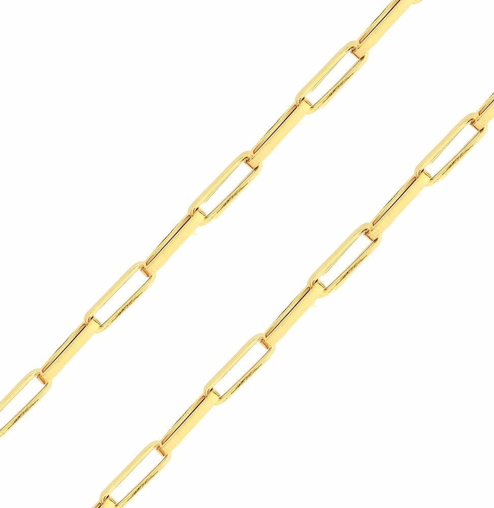 f384cf1b63b pulseira de ouro 18k masculina - malha cartier 1mm. Carregando zoom.