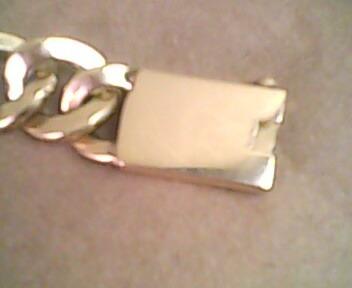 pulseira de ouro 18k unissex, 30 g, grumê