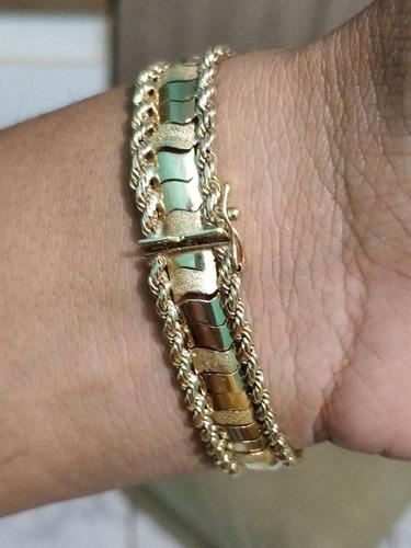 pulseira de ouro antiga