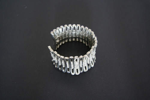 pulseira de pedra cristal