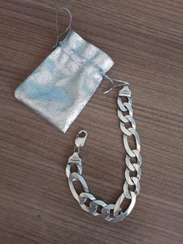 pulseira de prata 925 masculina