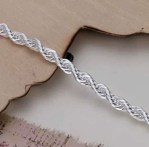 pulseira de prata 925 modernas