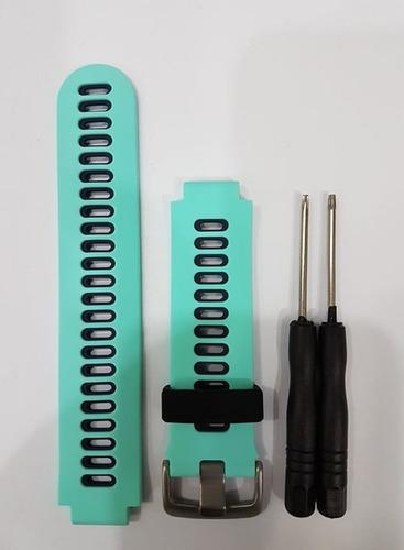 pulseira de silicone garmin forerunner 230/235/620/630/735xt