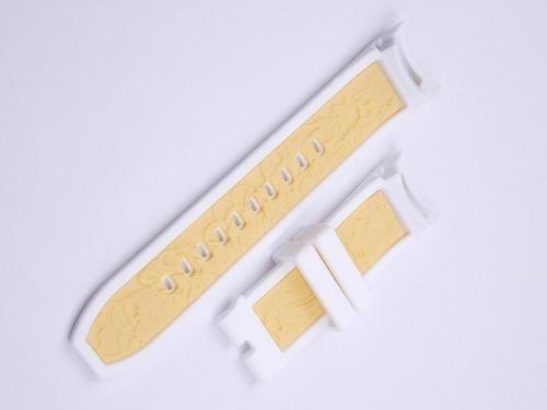 pulseira de silicone invicta s1 yakuza branca original