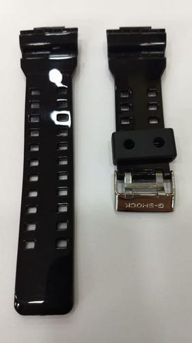 pulseira de silicone p/ casio g-shock ga-100 outros original