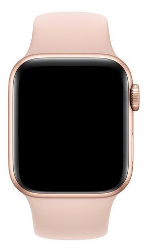 pulseira de silicone para apple watch 38/40mm - pink sand