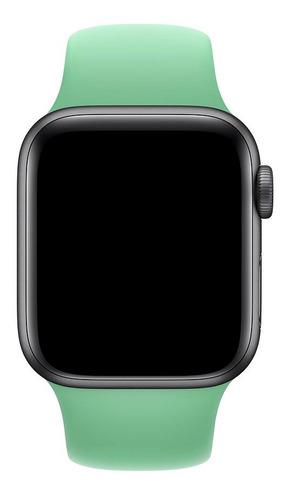 pulseira de silicone para apple watch 38/40mm - spearmint
