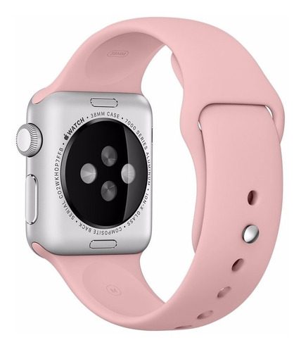 pulseira de silicone para apple watch 38/40mm - vintage rose