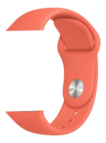 pulseira de silicone para apple watch 42/44mm - clementine