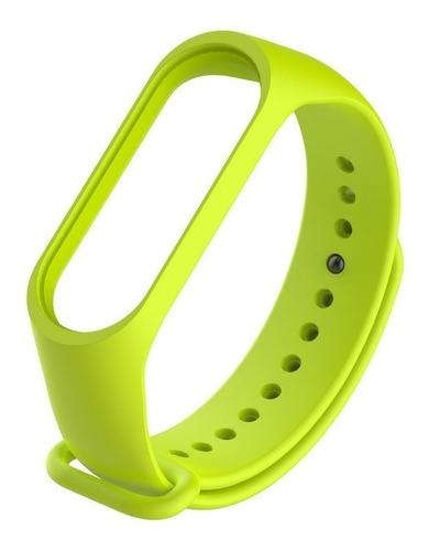 pulseira de silicone para mi band 3 e 4  kit com 5 pulseiras