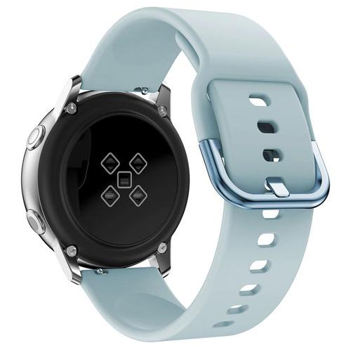 pulseira de silicone para samsung galaxy watch active - azul