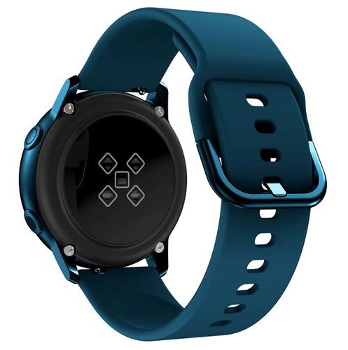 pulseira de silicone para samsung galaxy watch active verde