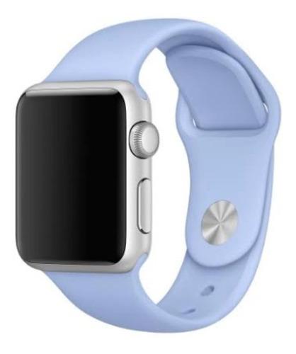pulseira de silicone sport para apple watch 38/40mm - lilac
