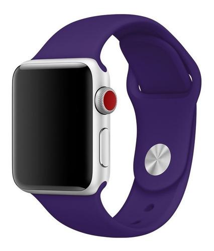 pulseira de silicone sport para apple watch 38/40mm - violet