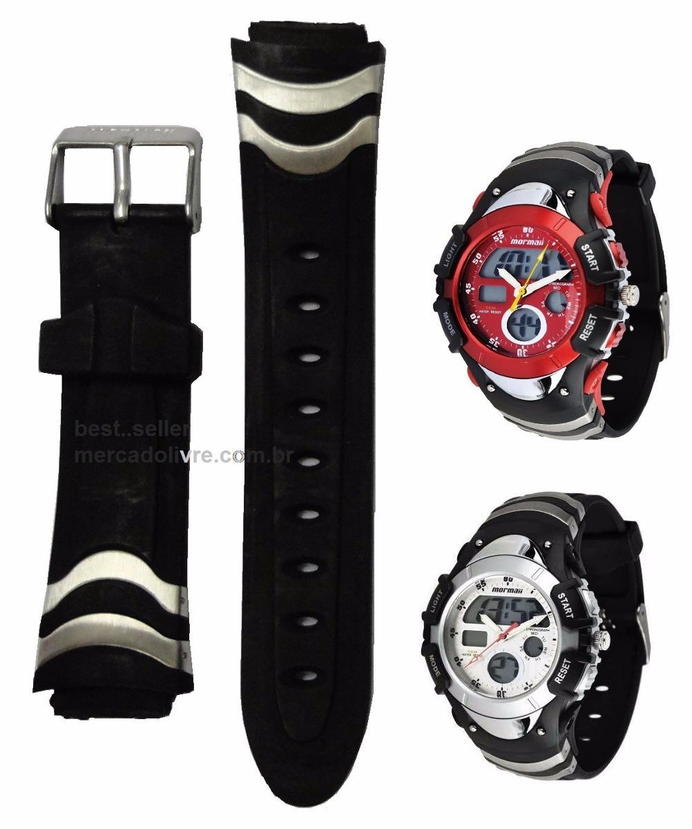 Pulseira Do Relógio Mormaii 7870m 7870 Original - R$ 126,00 em