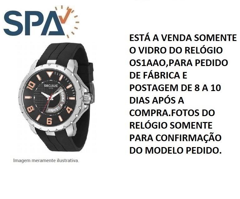 04ae218eb1e Pulseira Do Relógio Seculus 20206gpsvha1 - R  119