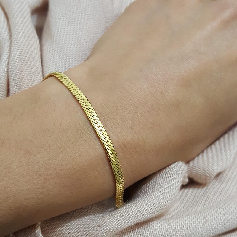 e3acac5d4 Carregando zoom... elo joia pulseira. Carregando zoom... pulseira  diamantada bruna semijoias elo unido joia folheada