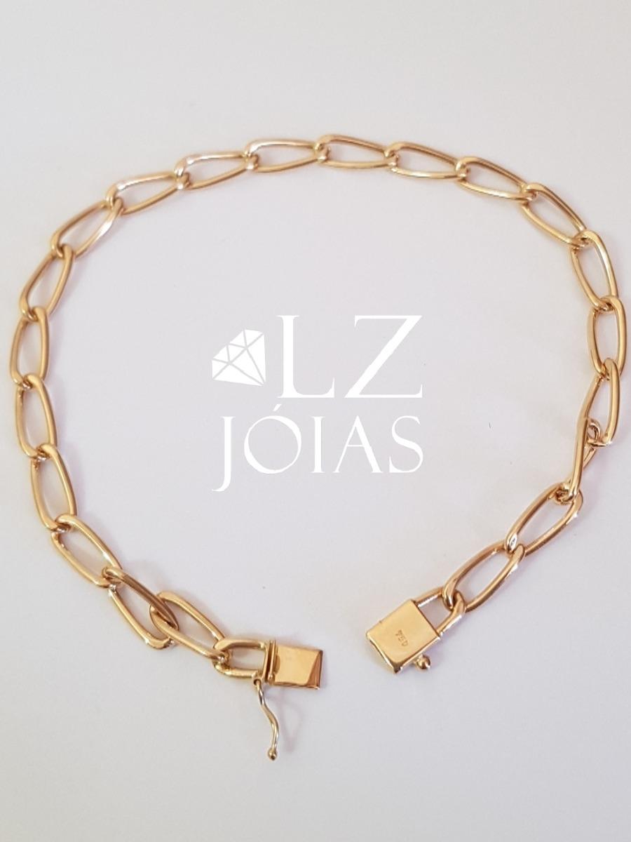 b7d57ff0224 pulseira elos iguais cartier longa masculina ouro 18k 750. Carregando zoom.