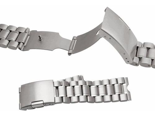pulseira em aço inox links sólidos moto 360 v1 frete grátis