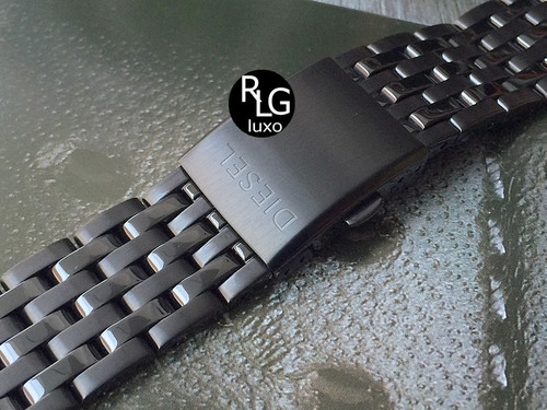 pulseira em aço para relógios diesel - confira.