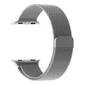 Pulseira Em Aço Para Smartwatch 42 - 44 Magnetico Milanese