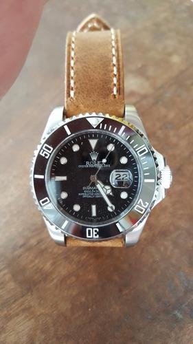 pulseira em couro natural 20 mm