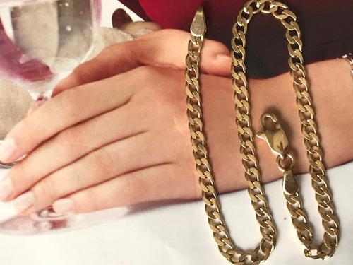 pulseira em ouro 18k-750 20cm 4.5 gramas