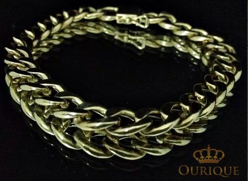 pulseira em ouro 18k 750 grumet tradicional groumet promoção