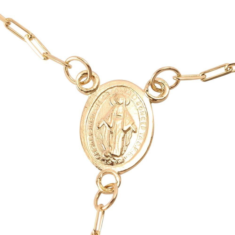 fb64aaf6fdf pulseira em ouro 18k cartier terço 18cm. Carregando zoom.
